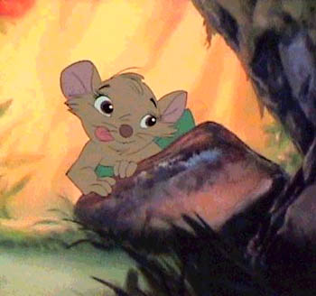 Screenshot of Cynthia from the movie The Secret of NIMH