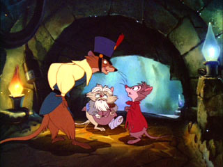 Screenshot of Justin from the movie The Secret of NIMH